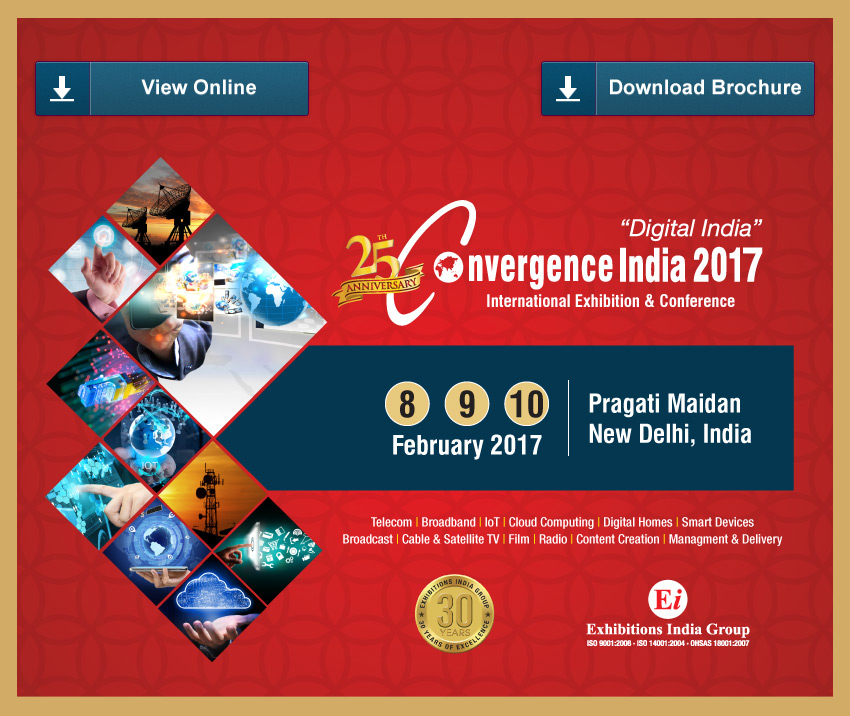 25th Convergence India 2017 Brochure