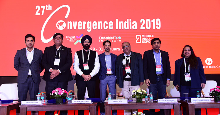 27th Convergence India 2019 expo, Internet of Things India 2019 expo, Embedded Tech India 2019 expo and Mobile India 2019 expo draws to an end; registers a record footfall of 25,000+ visitors