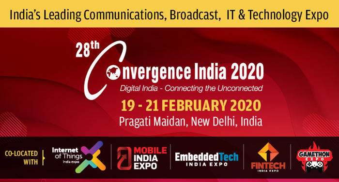 Call for Speakers for 28th edition of Convergence India 2020 Expo