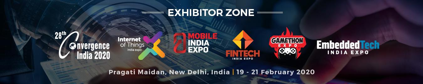 Convergence India - Exhibitor Zone