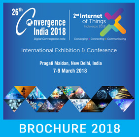 26th Convergence India 2018 Expo Brochure