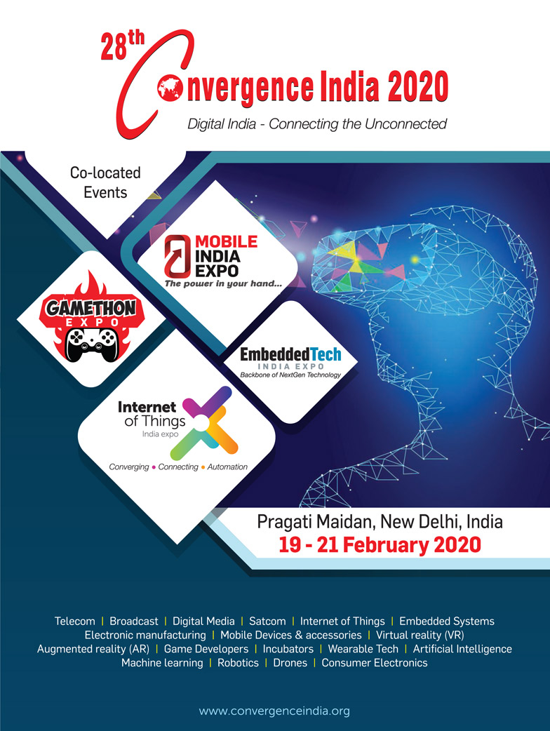 28th Convergence India 2020 expo Brochure