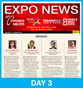 26th Convergence India 2018 Show Daily Day 3