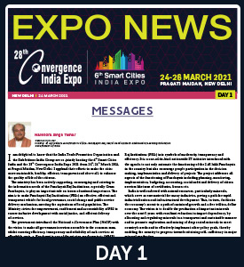 26th Convergence India 2018 Show Daily Day 1