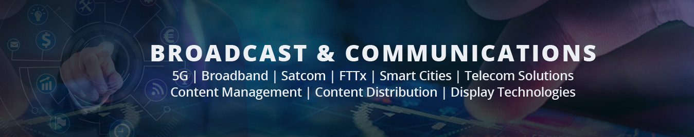 India's leading Communications, Broadcast, IT & Technology Show